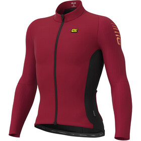 Alé Cycling Clima Protection 2.0 Warm Race Longsleeve Jersey Heren, masai red